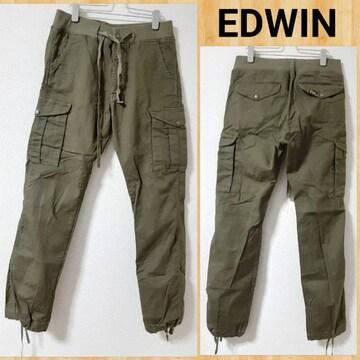 EDWIN エドウィン リブカーゴイージーパンツ 28 美品