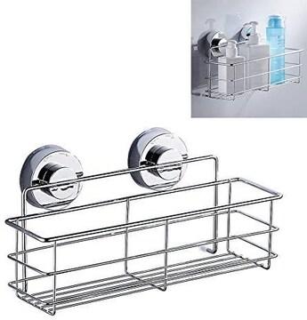浴室ラック 真空吸着 浴室収納ラック 水切り しっかり固定 スポ