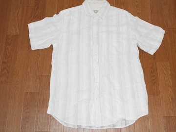 衣類 MENS Lサイズ 半袖シャツ ホワイト field country