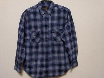 即決USA古着鮮やかチェックデザインネルシャツ!アメカジビンテージレア