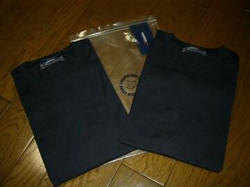 新品GOODENOUGHIVYグッドイナフアンダーウエアセットL紺Tシャツ