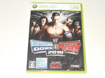 xbox360★WWE 2010 SMACKDOWN VS RAW