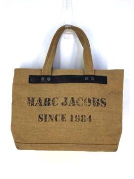 MARC JACOBS(マークジェイコブス)麻トートバッグハンドバッグ