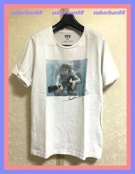 ☆ユニクロUT☆美品激レア☆NIRVAVAカートコバーンTシャツM☆