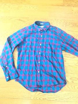individualizedshirts長袖チェックネルシャツ