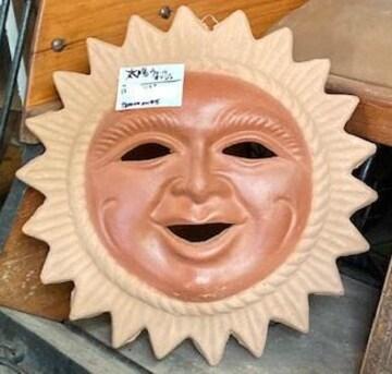 ポジティブで幸運を呼ぶ 太陽の顔 メキシコのお土産品