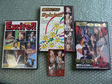 関ジャニ∞【Excite!!/Spirits!!/Heat up!】初回盤(6DVD)3枚set