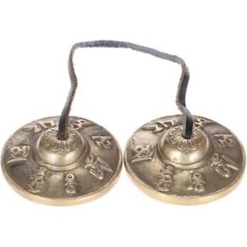サイズ1 ammoon チベット密教 ティンシャ 2.6in/6.5cm 手作り 瞑