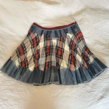 イピンコパリーノI PINCO PALLINOチェックプリーツスカート#XS