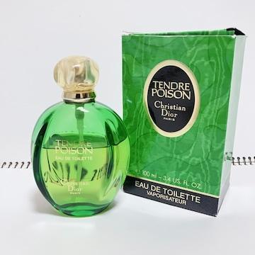 廃盤 Dior ディオール タンドゥルプワゾン 100ml EDT 香水