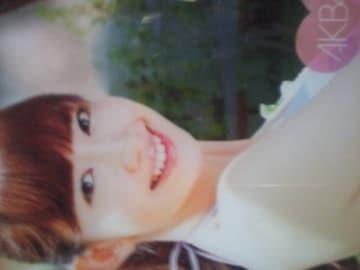AKB48小嶋陽菜トレカ「小嶋陽菜クリアカード」