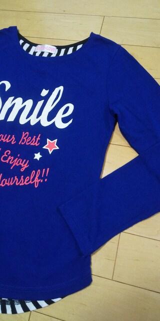 激可愛☆背中オシャレ♪長袖Tシャツ(^-^) 150 < キッズ/ベビーの