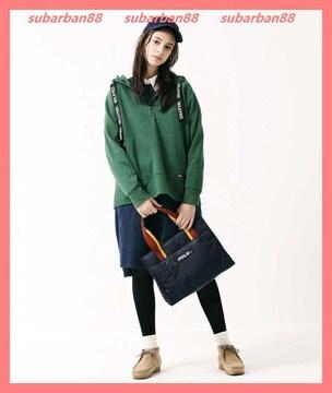 ミルクフェド☆美品完売テープロゴスウェットパーカーチュニック