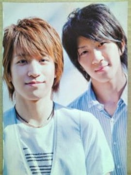 Jr.カレンダー'09.4-'10.3付録フォトブック切抜(15)濱田崇裕・中山優馬