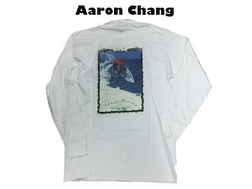 新品 長袖 Aaron Chang 90代 オルドスクール ロングT M