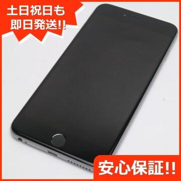 ●美品●DoCoMo iPhone6 PLUS 128GB スペースグレイ●