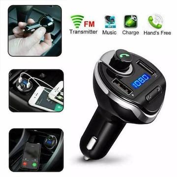 Bluetooth FMトランスミッター 充電器 充電 音楽再生