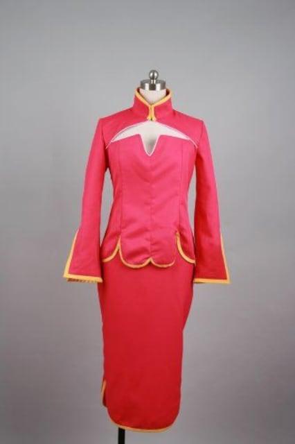 ★機動戦士 ガンダムOO★王留美 コスプレ衣装  < 女性ファッションの