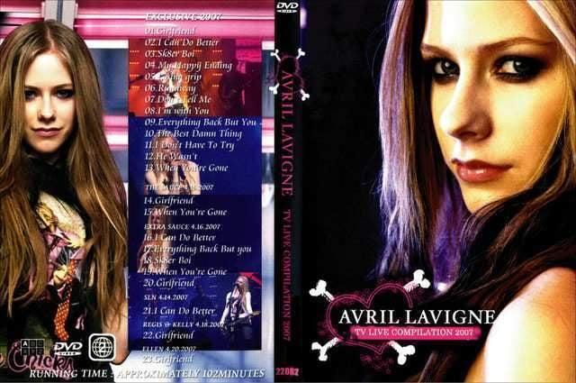 AVRIL LAVIGNE LIVE COMPILATION 2007Vol,1アヴリル  < タレントグッズの