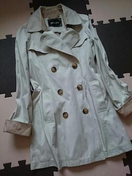 LINK IT ALL Premium☆美ライン トレンチ スプリングコート★レインコート☆ジャケット