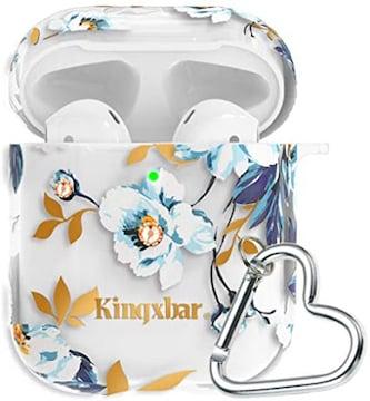 AirPodsケース 5 in 1キラキラSwarovski水晶 Apple AirPods 2