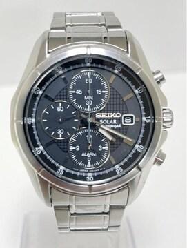 T348 MBR★美品SEIKO セイコーV172-0AB0 ソーラー 腕時計