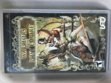 PSP北米版ウォーリアーズオブザロストエンパイア