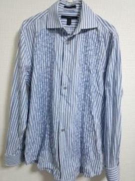 エキスプレス 刺繍ストライプシャツ