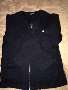 ポンポネット ファスナー付き長袖シャツ 120