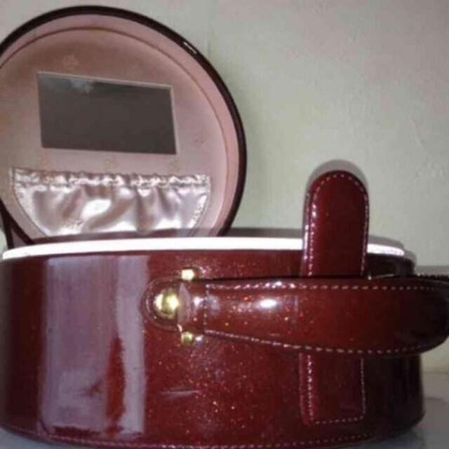 *新品同様 資生堂花椿 宝石箱 ジュエリーバッグ < 女性ファッションの