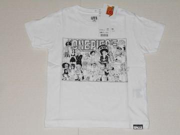 UNIQLO ONE PIECE 半袖Tシャツ ホワイト 100サイズ ジャンプ50th