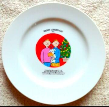 激レア 1991年 Kentucky Fried Chicken クリスマス皿