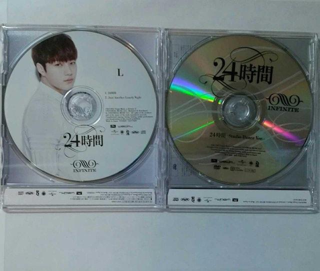 【L公式トレカ3枚付】貴重DVD INFINITE 24時間 Dance Version + < タレントグッズの