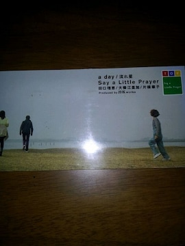sayalittleprayer☆aday◇CDシングル美品☆流れ星★田口理恵↑