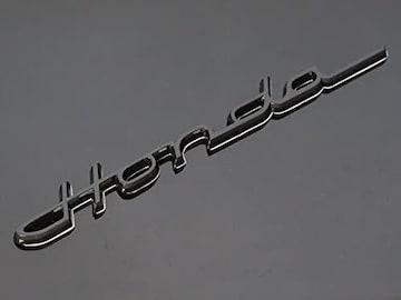 Honda クラシック エンブレム ブラック 筆記体 215mm×23mm