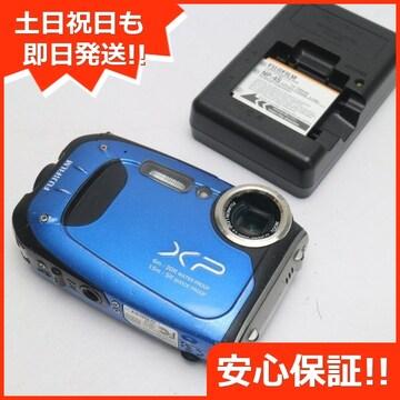 ●良品中古●FinePix XP60 ブルー●