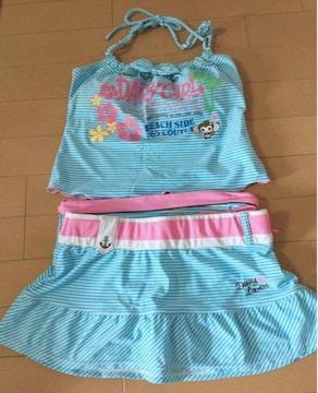 B2008 スポーツウェア/DaisyLovers/pastel blue swim wear