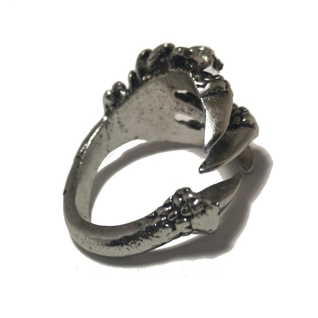 ほぼ未使用品【980円〜】禍々しい竜の爪 指輪【サイズ22mm】 < 男性アクセサリー/時計の