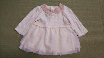 【送料込】フォーマルワンピース/女の子/80cm