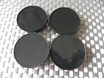 新品センター ハブ キャップ 50mm黒4個セット☆ステッカーok