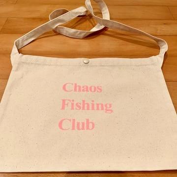 Chaos fishing CLUB サコッシュ ピンク