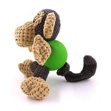 犬用おもちゃ ストレス解消 発声装置搭載 モンキーさん