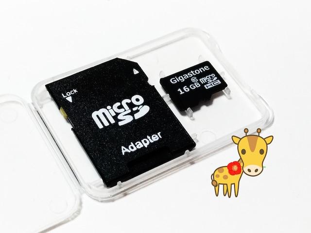 送料無料◇ギガストーン マイクロSDHC16GB micro16GB クラス10 初期不良保証