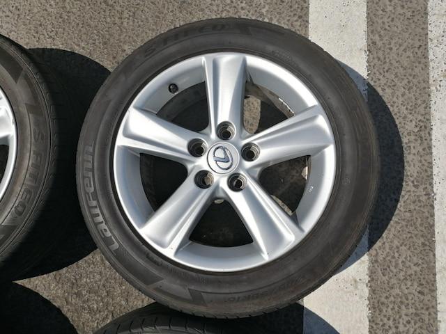 トヨタマークX純正アルミホイールタイヤ205/55r16インチ215/60r16インチレクサスHSクラウンSAI < 自動車/バイク