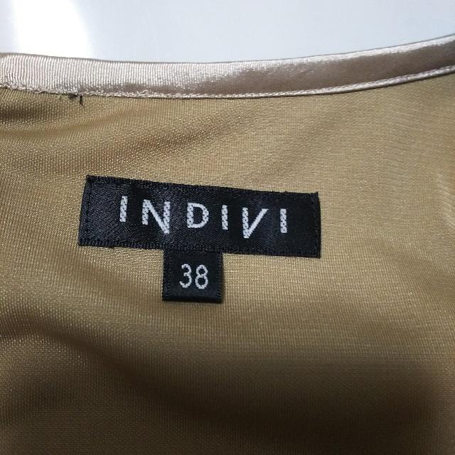 INDIVI(インディヴィ)のワンピース < ブランドの