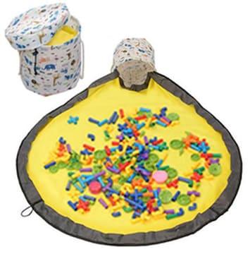 玩具 収納箱 アウトドア おもちゃ 収納 バスケット プレイマット