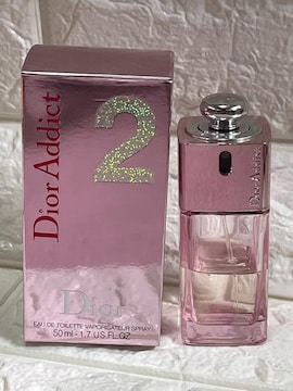 中古ディオール アディクト香水50ml(残量4.5割)Dior Addict