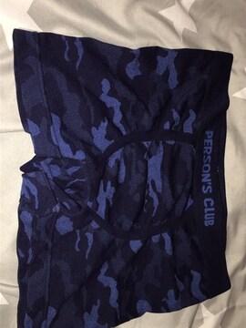 ボクサーパンツ  カモフラージュ 青 size M