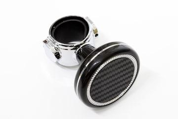 ハンドルスピンナーtype5 カーボン調Xブラック+クロムメッキ