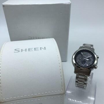 CASIO カシオ SHEEN/シーン SHN-7501 ソーラー電波腕時計 レデ